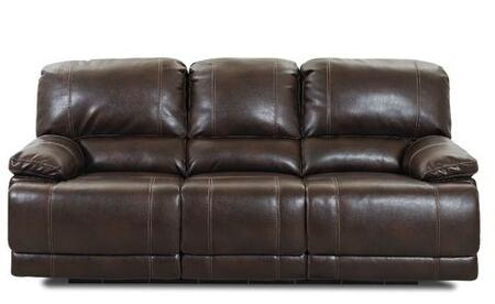 Klaussner DARIUSPWRS Darius Series Reclining Bonded Leather Sofa
