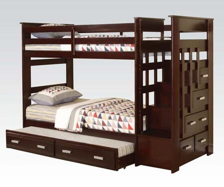Acme Furniture 10170B Allentown Series  Twin Size Bunk Bed