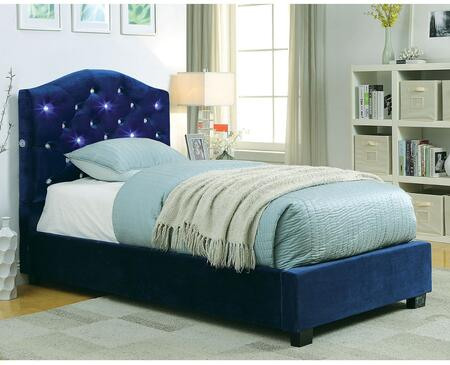 Furniture of America CM7421NVTBED Betelgeuse Series  Twin Size Platform Bed