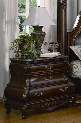 Yuan Tai CA7733N Calidonian Series Rectangular Wood Night Stand