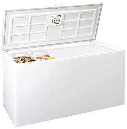 Summit SCFF250 Commercial Series Chest Freezer with 23.5 cu. ft. Capacity in White