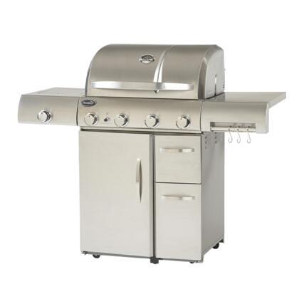 Aussie 6804T8KSS1 Freestanding Liquid Propane Grill