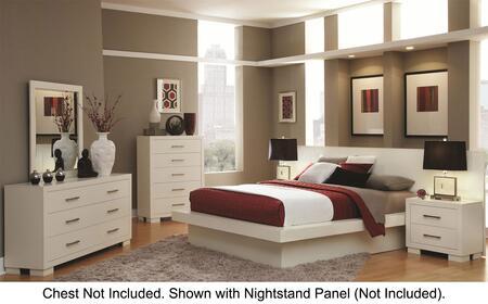 Coaster Jessica 4 Piece California King Size Bedroom Set