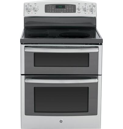 "GE Profile PB950SFSS 30"" Profile Series Electric Freestanding Range with Smoothtop Cooktop, 4.4 cu. ft. Primary Oven Capacity, in Stainless Steel"