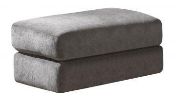 "Jackson Furniture Sutton Collection 3289-10- 44"" Ottoman with Extra Thick Cushion, Chenille Fabric Upholstery and Piped Stitching in"