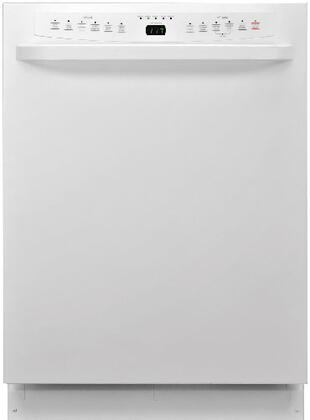 """Haier DWL4035DCWW 24"""" Built-In Full Console Dishwasher with in White"""
