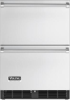 Viking VRD5240DSS Drawer Refrigerator with Full Extension Drawers, Forced Air Cooling System, Electronic Controls and Stainless steel Interior and Exterior
