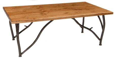 Stone County Ironworks 903-022 Woodland Cocktail Table