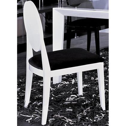 VIG Furniture VGUNAA018W Armani Xavira Series Modern Fabric Wood Frame Dining Room Chair