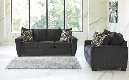 Milo Italia MI1331SLSLAT Carley Living Room Sets