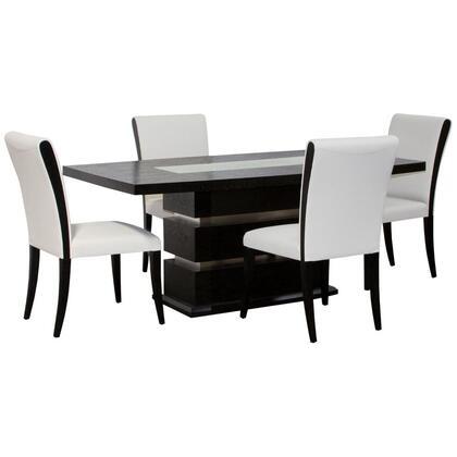 Diamond Sofa 0406990T5PC Diamond Sofa Dining Room Sets