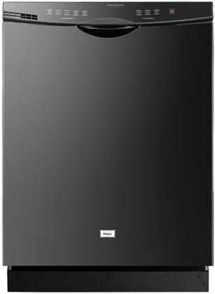 "Haier DWL2825DDBB 24"" White Energy Star Series Built-In Full Console Dishwasher"