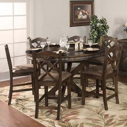 Sunny Designs 1365ACDT6C Savannah Dining Room Sets