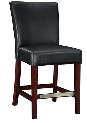 Powell 273918 Powell Cafe Series Residential Bonded Leather Upholstered Bar Stool