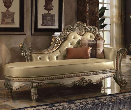 Acme Furniture 96485 Vendome Series Traditional Wood Frame Chaise Lounge