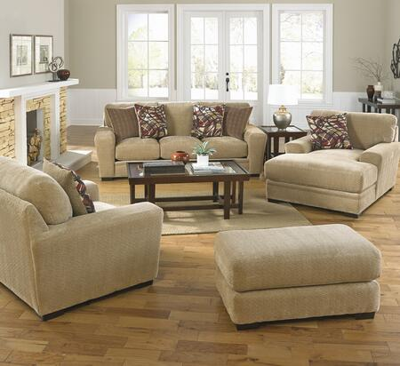 Jackson Furniture 44874PCSTLCOBNKIT1OA Prescott Living Room