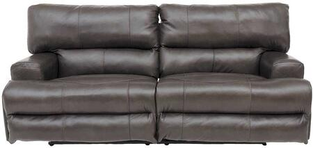 Catnapper 764581128328308328 Wembley Series  Leather Sofa