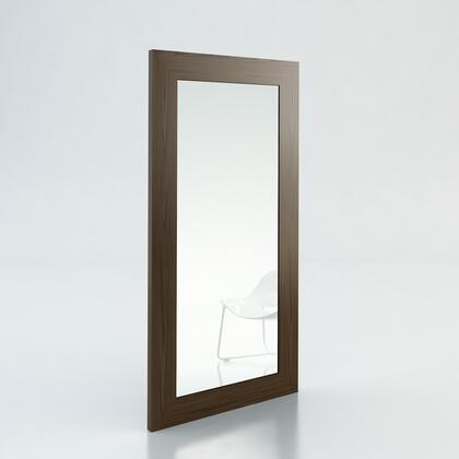 Modloft SP924WAL Norfolk Series Rectangular Both Wall Mirror