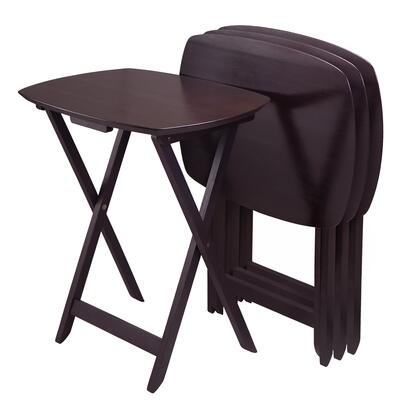 Winsome 924XXX Set of 4 Single TV Tables