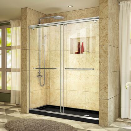 DreamLine Charisma Shower Door RS39 60 01 88B RightDrain E