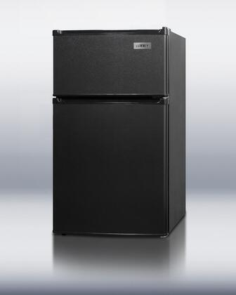 Summit CP35BAL Freestanding Counter Depth Top Freezer Refrigerator with 2.9 cu. ft. Total Capacity 1 Wire Shelves