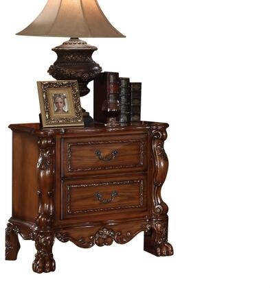 Acme Furniture 12143 Dresden Series Rectangular Wood Night Stand