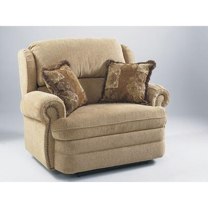 Lane Furniture 20314411717 Hancock Series Traditional Fabric Wood Frame  Recliners