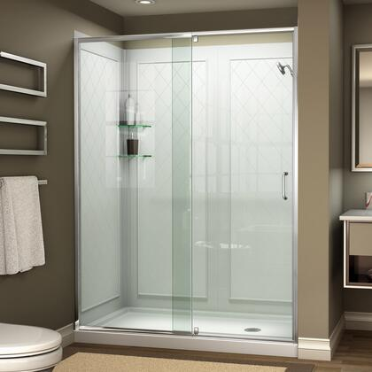 Flex Shower Door Complete Kit 01