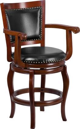 Flash Furniture TA212524CHYGG Residential Bar Stool