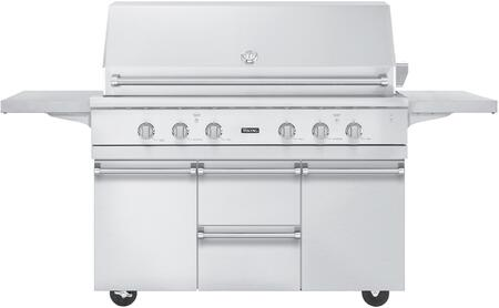 Viking VGIQ554241NCARTKIT Professional 5 Outdoor Kitchen Isl