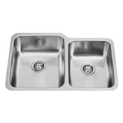 Vigo VG3221L Stainless Steel Kitchen Sink
