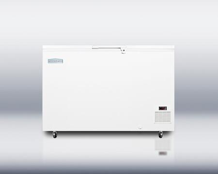 "Summit EL31LT 52"" Chest Freezer with 10.6 cu. ft. Capacity in White"