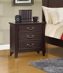 Acme Furniture 19593 Charlestown Series Rectangular Wood Night Stand