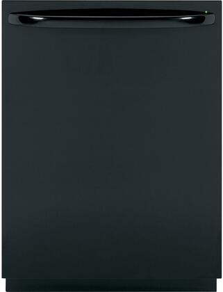 GE GDWT708VBB 708 Series Built-In Fully Integrated Dishwasher with in Black