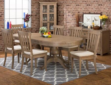 Jofran 94196TBKTSET7 Slater Mill Dining Room Sets
