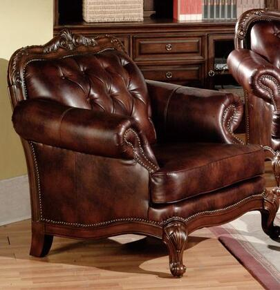 Meridian 665C Leather with Wood Frame