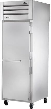 True STA1RPT-1SH Spec Series Pass-Thru Refrigerator with 31 Cu. Ft. Capacity, LED Lighting, and Solid Front and Rear Swing-Doors