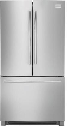 Frigidaire FPHG2399MF Professional Series Counter Depth Bottom Freezer Refrigerator with 22.6 cu. ft. Total Capacity 6.9 cu. ft. Freezer Capacity 4 Glass Shelves