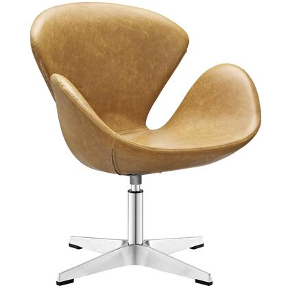 Modway EEI-1803 Flight Vinyl Lounge Chair