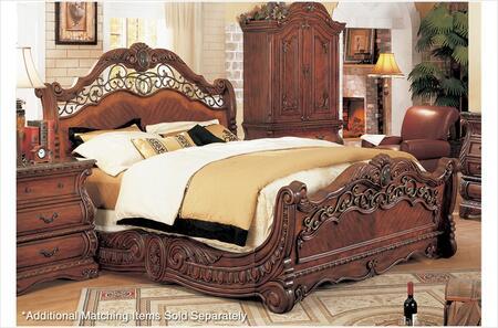 Yuan Tai FR5801K Frontega Series  King Size Sleigh Bed