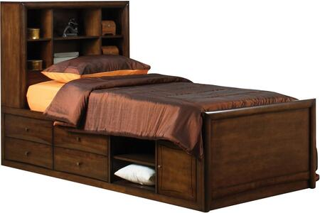 Coaster 400280T Scottsdale Series  Twin Size Bookcase Bed