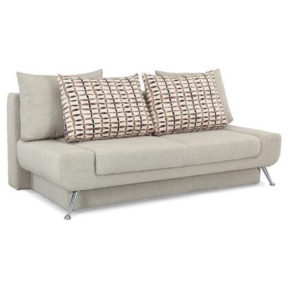 Lifestyle Solutions GASMDS3U5GASMDBCU5LB Signature Series Convertible Fabric Sofa