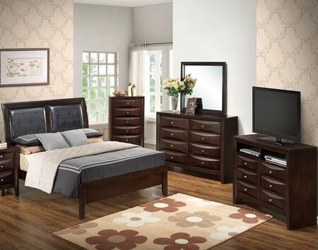 Glory Furniture G1525AQBDMCHTV2 G1525 Queen Bedroom Sets