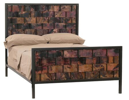 Stone County Ironworks 904748GAL  King Size HB & Frame Bed