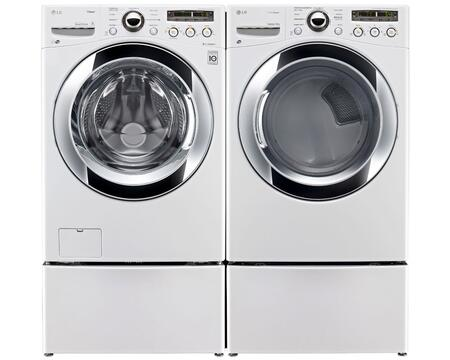 LG WM3250HWAPEDPAIR2 Washer and Dryer Combos