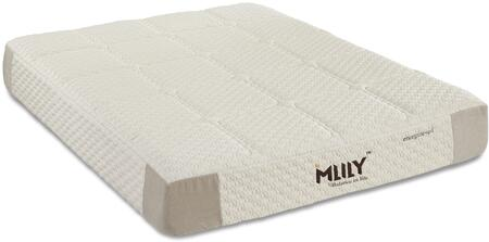 "MLily Energize Collection ENERGIZE11 11"" Mattress with Pocketed Coils Layered, Cooling Gel Memory Foam, Quilted Foam Cover, Spandex Blended Cover and Removable Cover in Beige Color"
