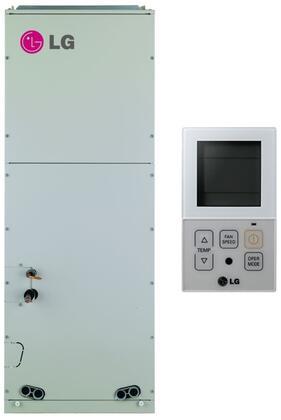 "LG LMVNxx0HV 18"" Multi F Vertical Air Handling Indoor Mini Split with Inverter, Auto Restart, and Child Lock, in Bisque"