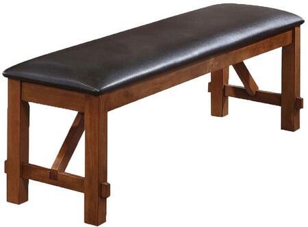 Acme Furniture 70004 Apollo Series Kitchen Armless Wood Bench