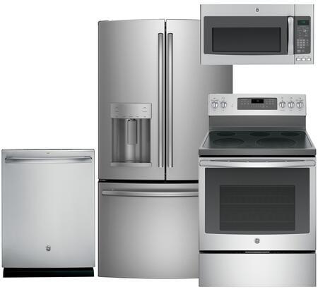 GE GE4PCFSFD30EFISSKIT1 Kitchen Appliance Packages