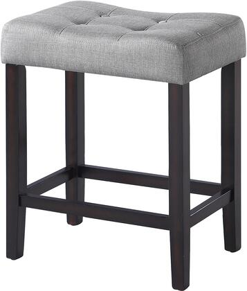 Coaster 18201xchs 25 Counter Height Stool With Fabric Upholstery